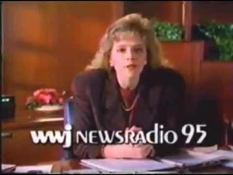 1990 WWJ Newsradio 95 AM - Detroit, MI. commercial