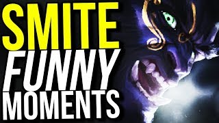SMITE JUMPSCARES RETURN... (Smite Funny Moments)