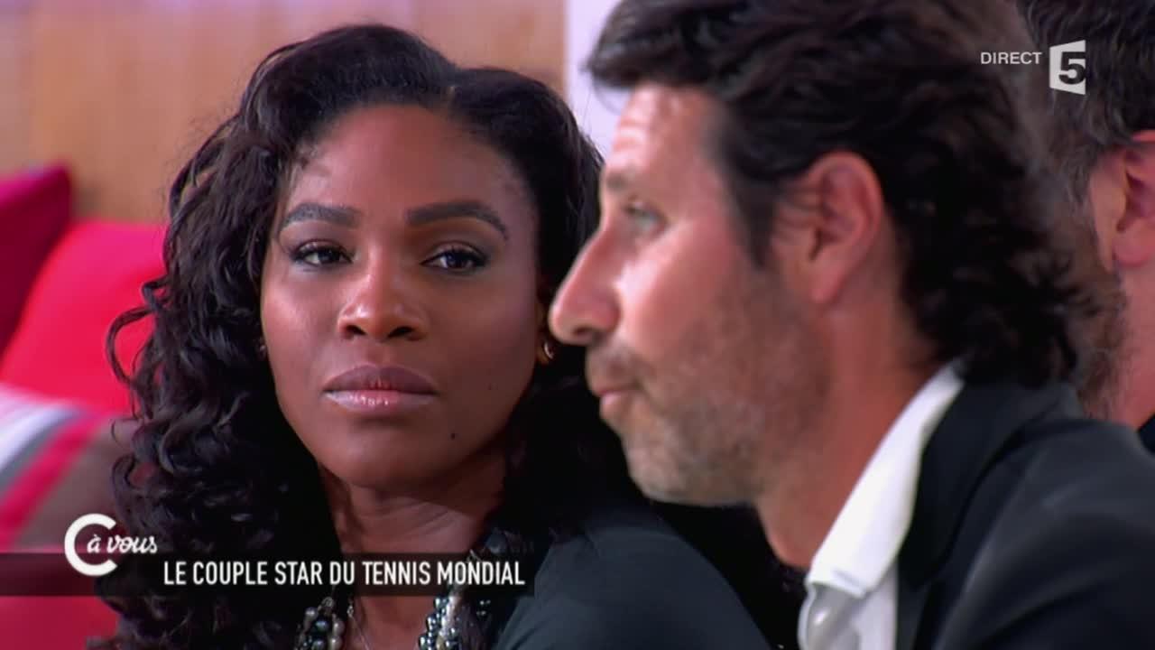 Serena Williams Patrick Mouratoglou Couple Serena Williams et Patrick