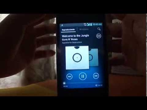 Descargar e instalar el reproductor walkman para dispositivos no root (xperia) no funciona