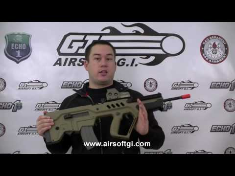 Airsoft GI - Ares Tavor Tar 21 Tan - Official Israeli Weapon Industry License