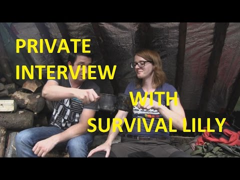 survival lilly nackt
