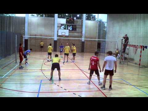 GeoVolley Team - BiC Oczy Ważki (2:0) - Cały Mecz
