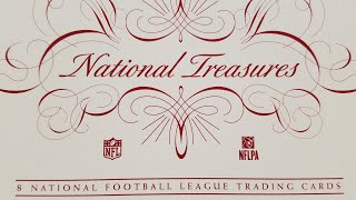 2017 National Treasures Football Box Opening. Buck City Breaks Special Delivery