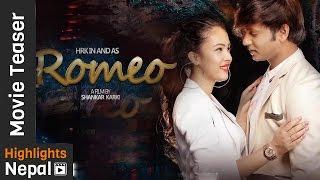Romeo - New Nepali Movie Official Teaser Ft. Hassan Raza Khan, Nisha Adhikari, Oshima Banu   4K