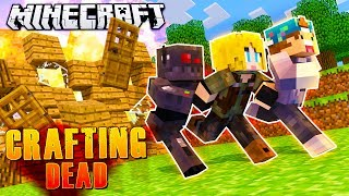 OUR BASE WAS BLOWN UP?!   Minecraft Crafting Dead