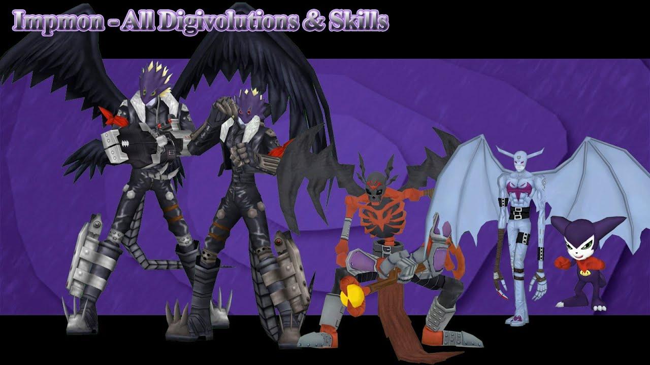 digimon masters online impmon all digivolutions