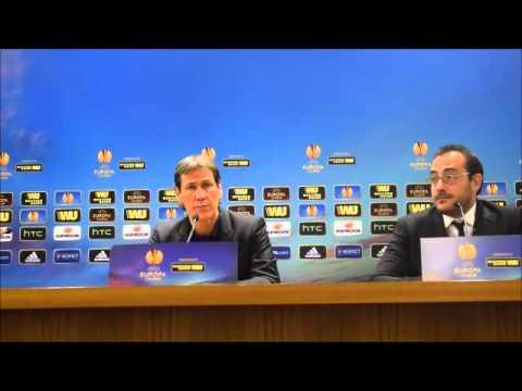Roma-Feyenoord 1-1  Intervista a Rudi Garcia