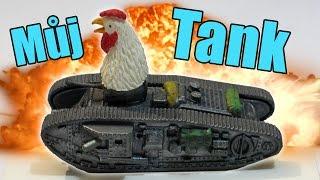 Mám svůj vlastní TANK! - TankWars.io - Nakashi [CZ]