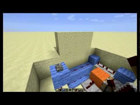 Minecraft Brána s padací mříží 4x4 TUTORIAL