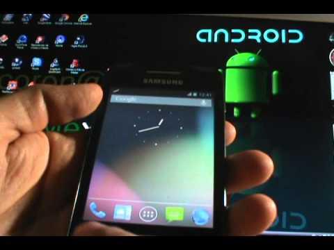 Rom CM10 JB (Update 4-01-13) - Galaxy Ace S5830/B/L (EspañolMX)