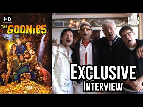 Exclusive Interview: The Goonies - Sean Astin, Corey Feldman, Richard Donner and Joe Pantoliano