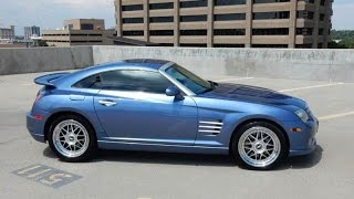 ULTRA RARE 2006 Chrysler Crossfire SRT-6 1 of 47, Supercharged AMG V6, Low Mile Coupe