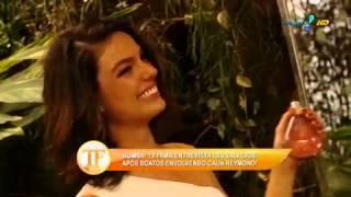 Isis Valverde fala sobre suposto affair com Cauã Reymond