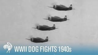 WWII Dog Fights: Breathtaking Battles in the Sky | War Archives
