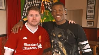 Gini Wijnaldum surprises LFC fan at the pub | Pure Liverpool FC