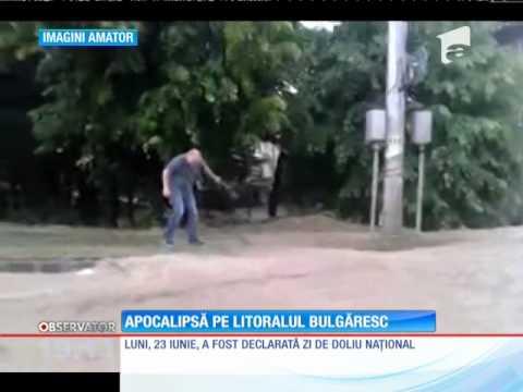 Inundaţii în Varna Bulgaria