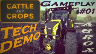 Cattle & Crops-TechDEMO gameplay 01 komentované