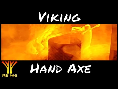 Forging a Viking Hand Axe ✔