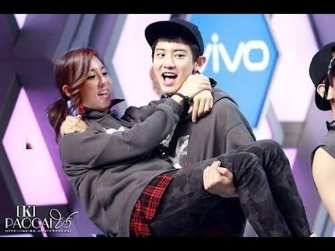 Chanyeol exo fans dara 2ne1 dating