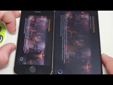 LG G 3 vs iPhone 5s (Speed Test - Velocidad)