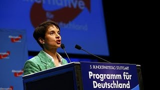How far right is Germany's new AfD party prepared to swing?