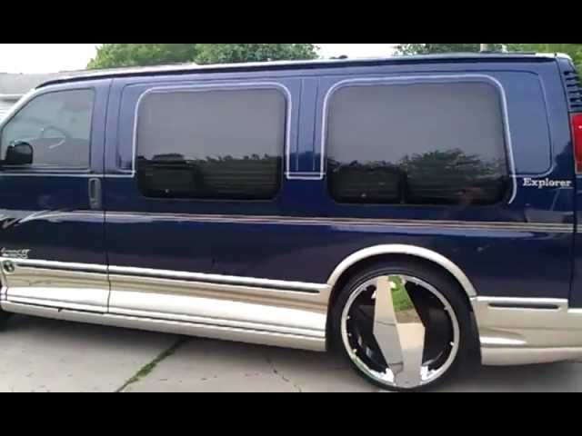"2004 Chevrolet Express explorer on 26""s"