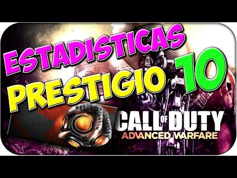 ESTADÍSTICAS PRESTIGIO #10 + Nuevas Armas - ADVANCED WARFARE