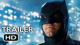 Justice League Official Comic Con Trailer (2017) Gal Gadot, Ben Affleck Action Movie HD