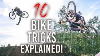 10 MOUNTAIN BIKE TRICKS erklärt!