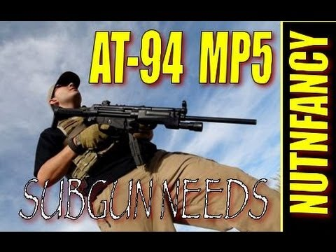 "AT-94 9mm Carbine: ""The MP5 You Never Had"" by Nutnfancy"