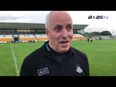 Tom Gray chats to Dubs TV after Leinster Final win