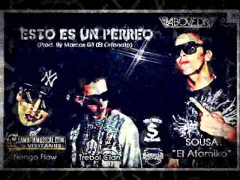 Esto es un perreo-Ñengo flow ft Trebol clan & Sousa el atomiko Music Videos