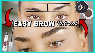 UNEVEN EYEBROW TUTORIAL STEP BY STEP |2018