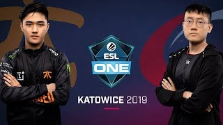 Dota 2 - Fnatic vs. compLexity - Game 1 - Group B R4 - ESL One Katowice 2019