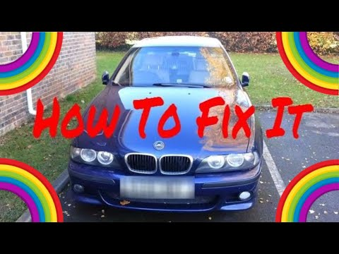 BMW E39 ABS and ASC How To Fix Fault. Test & Diagnose Issues