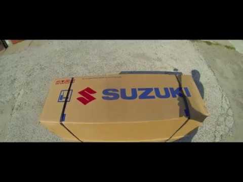 Suzuki DT9.9AS большая мощность при маленьком весе.