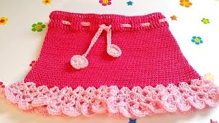 CROCHET SKIRT FOR BEGINNERS-1