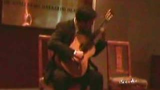 sonata porteña-1º movement for classical guitar-Javier Bravo