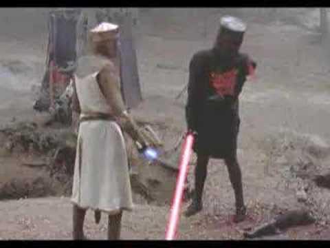 Monty Python Meets Star Wars