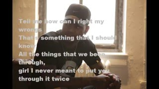 Right My Wrongs (lyrics)-   Bryson Tiller
