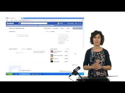 Como crear una página en Facebook.