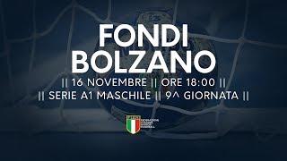 Serie A1M [9^]: Fondi - Bolzano 26-29