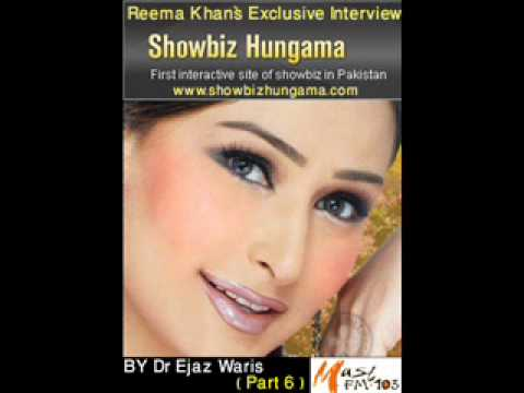 Reema Khan`s Exclusive Mast Fm 103 Interview By Dr Ejaz ( Part...