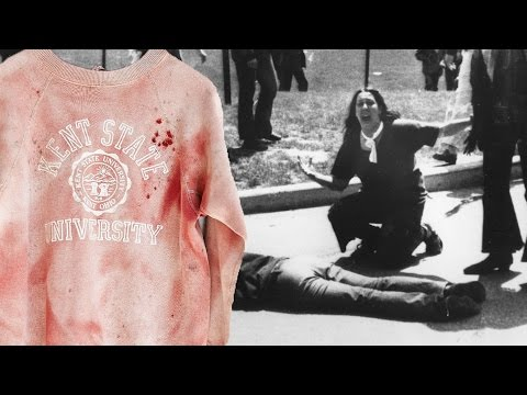 Urban Outfitters Sells Bloody Kent State Sweatshirt