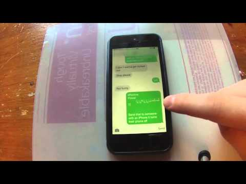 HOW TO FIX iPhone SMS LOCKED OUT OF MESSAGES Force-Crash Text Exploit - 2015 (WORKING)