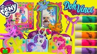 My Little Pony Doh Vinci Twilight Sparkle and LOL Surprise Dolls