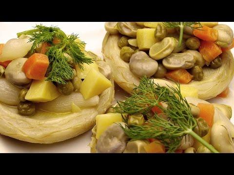 Фаршированные артишоки рецепт - Как вкусно приготовить артишоки