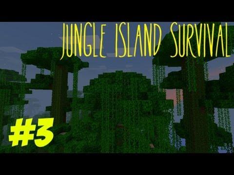 Minecraft: Jungle Island Survival Episode 3 - Welcome Back Jungle Island Survival!
