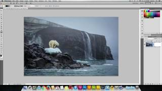 How to fade one side of an image in Adobe Photoshop